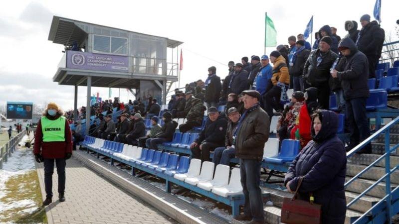 Coronacrisis? De Wit-Russische competitie geeft geen moer
