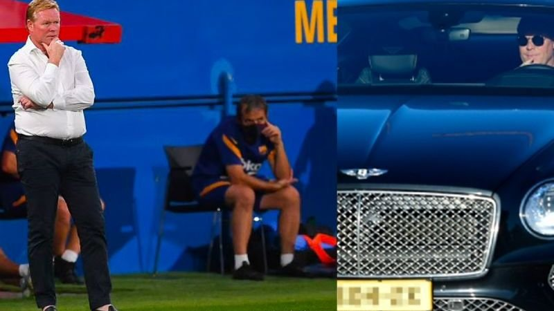 Dit is het riante salaris van Ronald Koeman bij FC Barcelona
