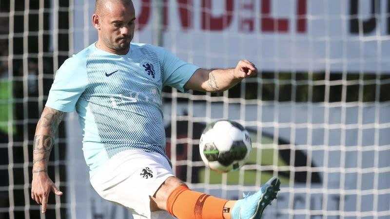 'Wesley Sneijder in gesprek met club uit Keuken Kampioen Divisie'