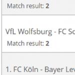 Eenvoudige Bundesliga-treble voor ruim zes keer je inzet