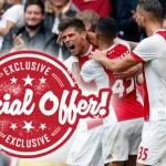 EXCLUSIEF: 50 keer je inzet bij zege Ajax in kraker tegen PSV