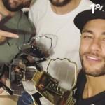Neymar wint pokertoernooi van vrienden